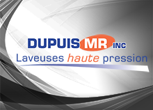 Dupuis MR - High pressure washers